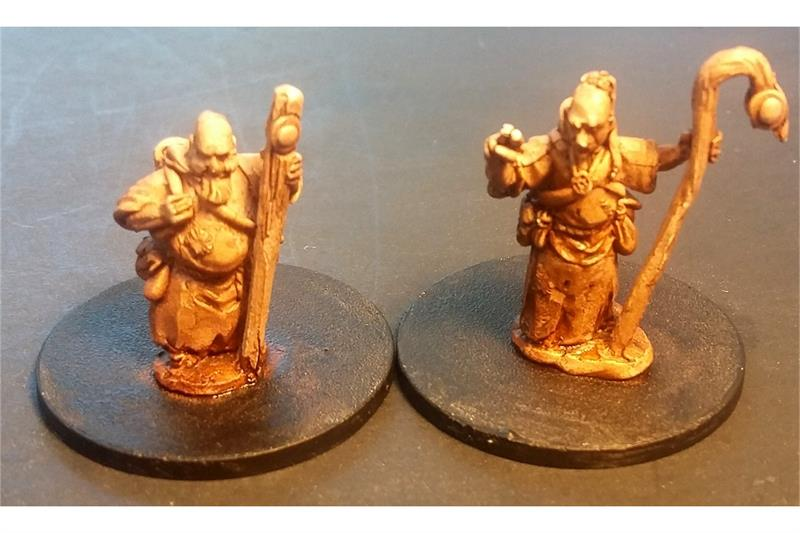 Monks (2 figures)