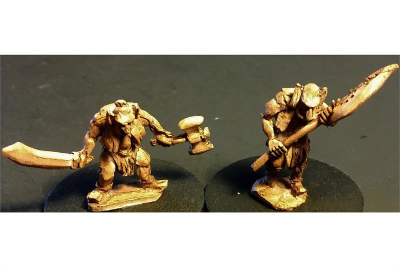 Hobgoblian Champions (2 figures)