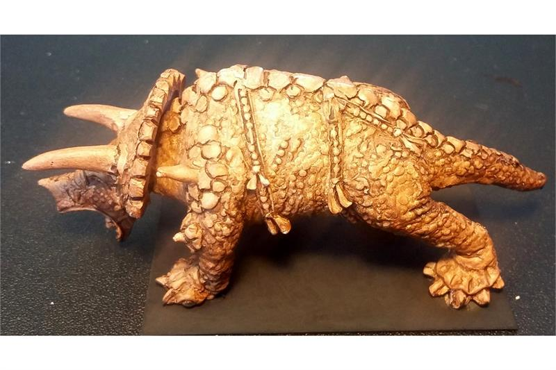 Orcian Triceratops (1 figure)