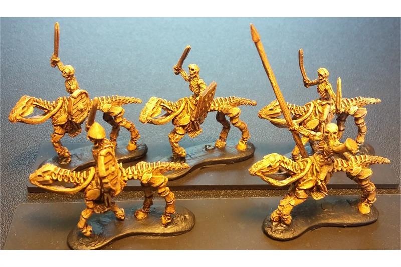 Decian Cavalry with Swords & Shields (16 figures)