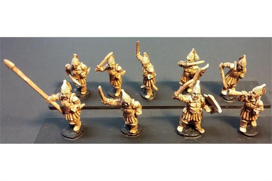 Vampirian Swordsmen with Shields (35 figures)