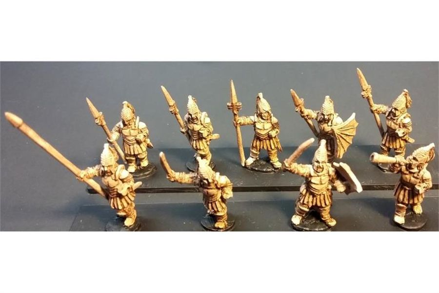 Vampirian Spearmen with Shields (35 figures)