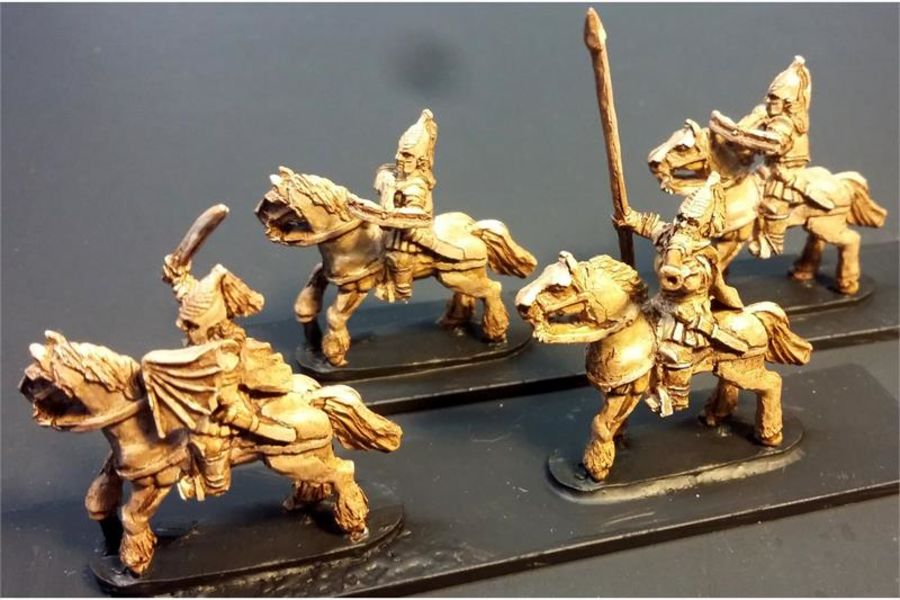 Vampirian Mounted Crossbowmen (16 figures)