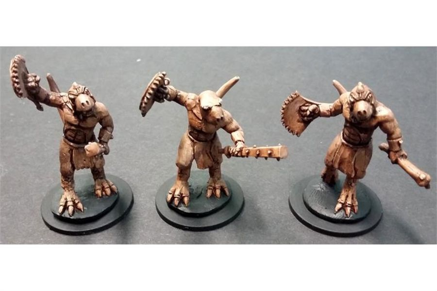 Scalian Carvers (10 figures)