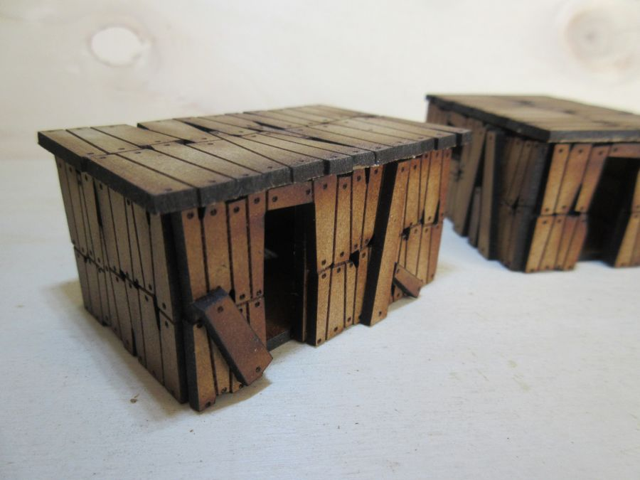 Orc shacks 15mm