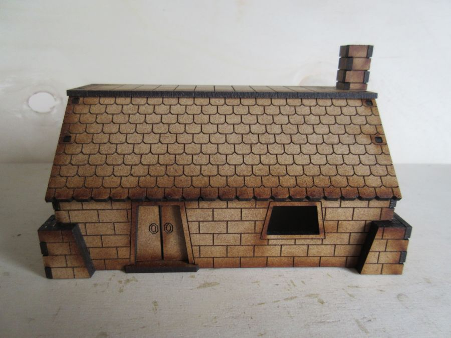 Simple Dwarf Dwelling 28mm