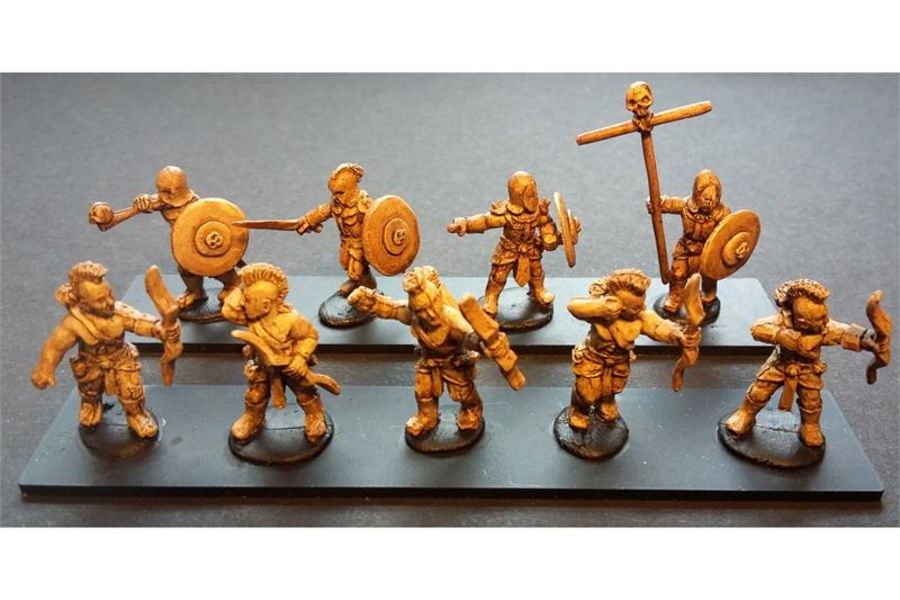 Hellian Bowmen (35 figures)