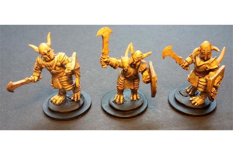 Hellian Armored Lower Demons (10 figures)