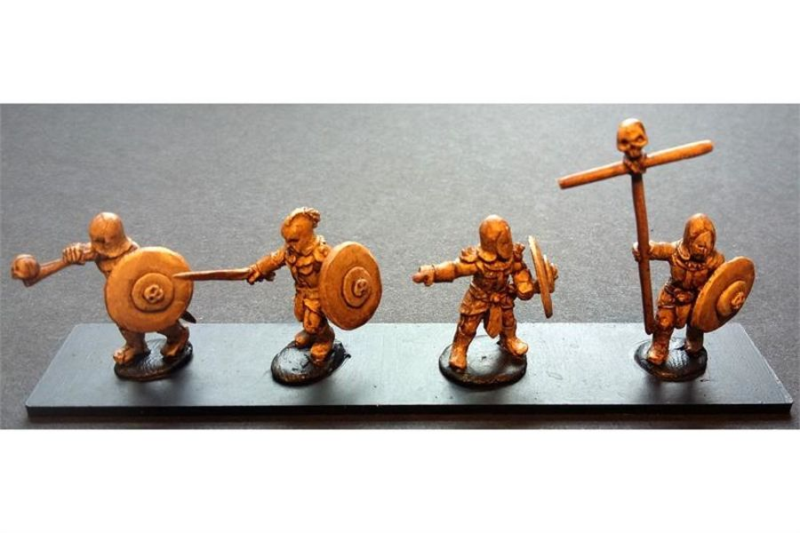 Hellian Command (4 figures)