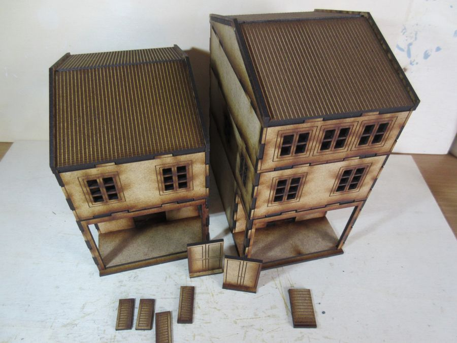 Asian Shop House 28mm variant 2