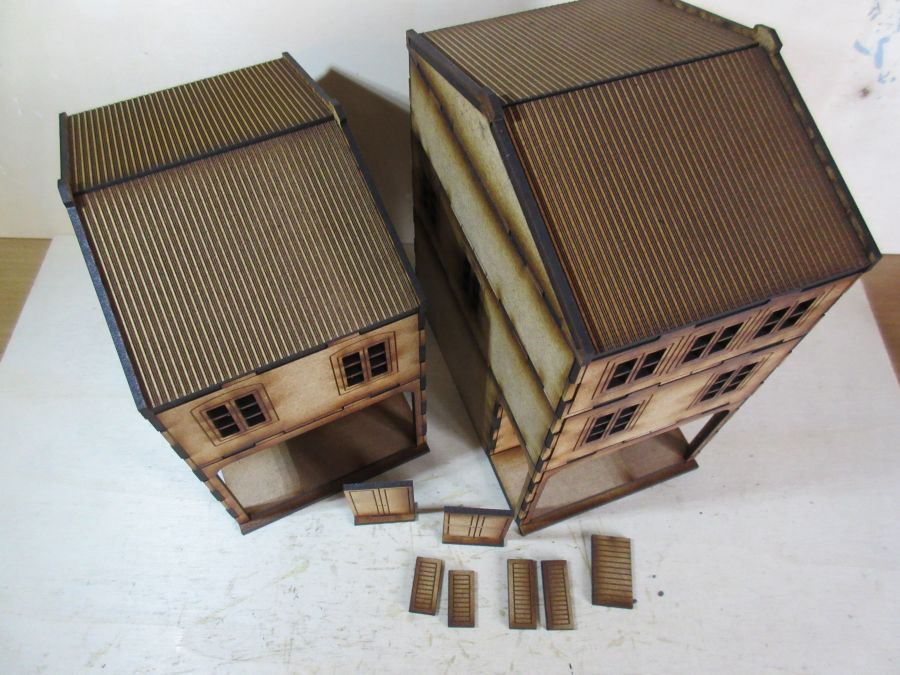 Asian Shop House 28mm variant 3