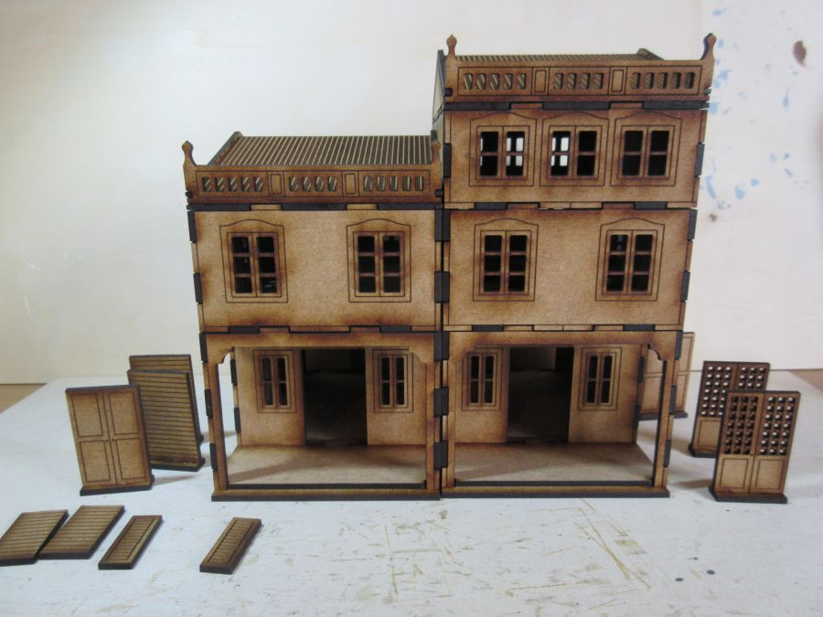 Asian Shop House 28mm variant 5