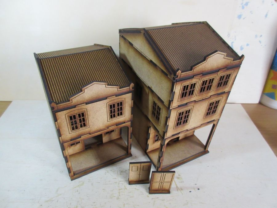 Asian Shop House 28mm variant 6