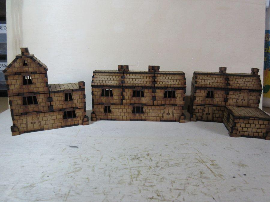 Dwarf dwellings 15mm