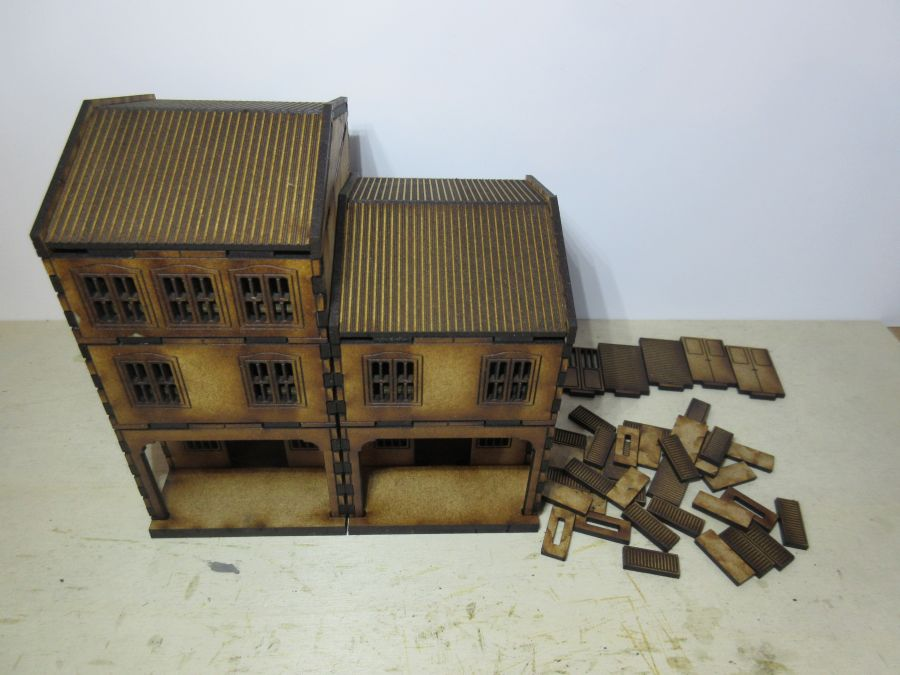 Asian Shop House 20mm variant 3