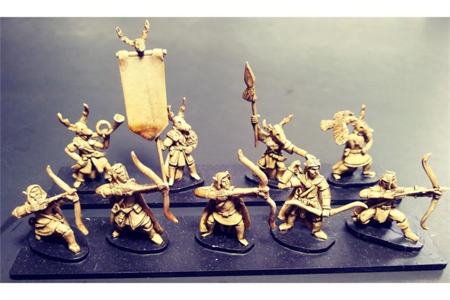 Wovian Archers (35 figures)