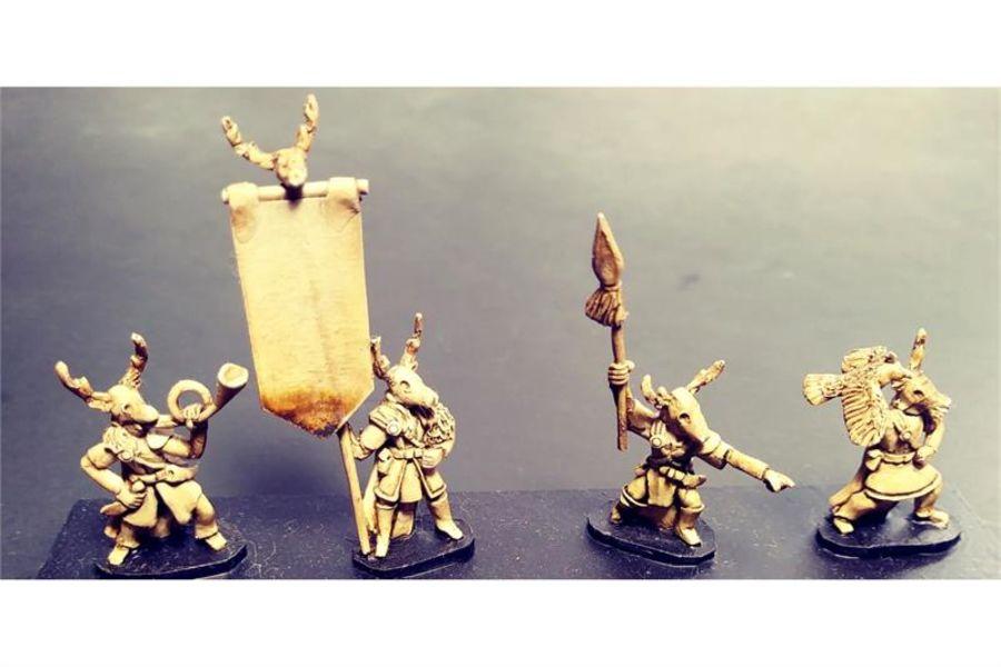 Wovian Command (4 figures)