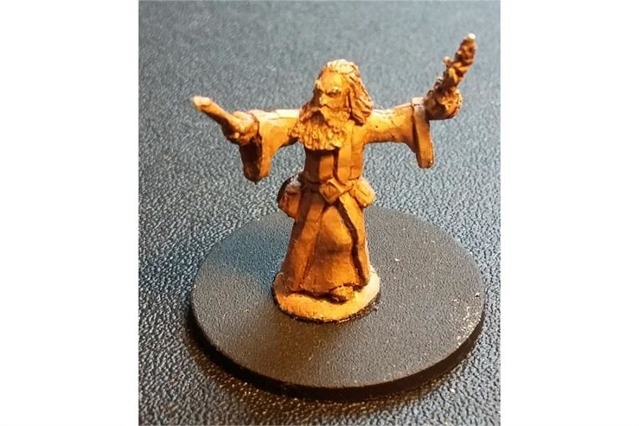 Grizzled Wizard (1 figure)
