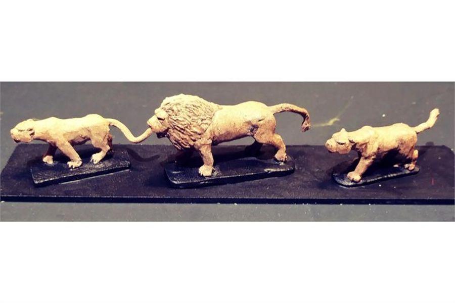 Legian War Lions (18 figures)