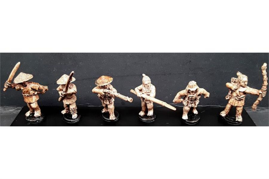 Bandits with Various Weapons (6 figures)