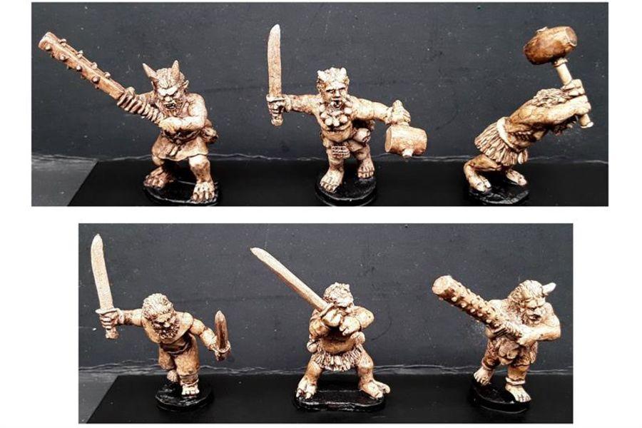 Oni (6 figures)