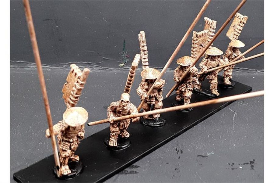 Undead Ashigaru with Yari (6 figures)