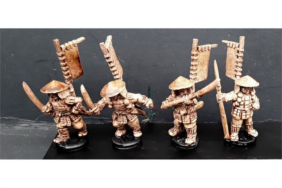Ashigaru with Various Weapons (6 figures)