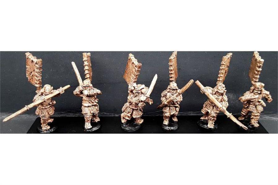 Undead Samurai (6 figures)