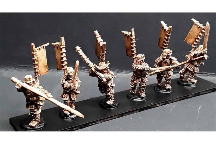 Samurai (6 figures)