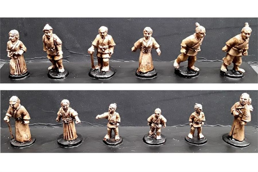 Villagers (12 figures)