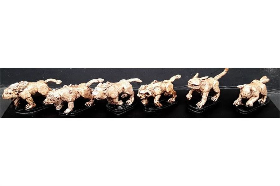 Small Oni Hounds (6 figures)