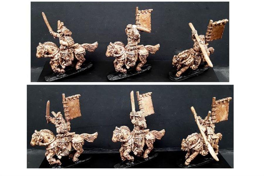 Undead Mounted Samurai (6 figures)