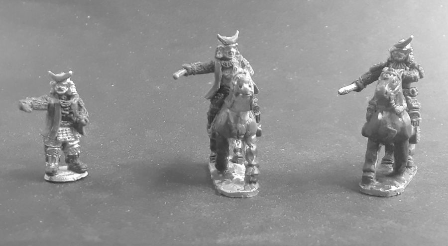 Mounted & Dismounted Bandit Leaders (4 figures)