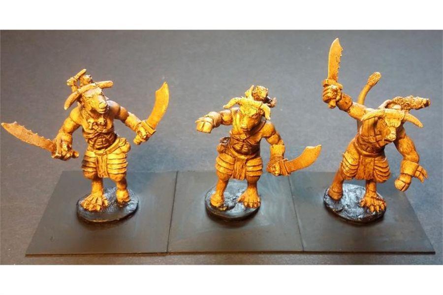 Vermian Bull Rats (3 figures)