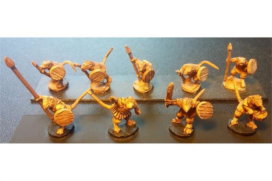 Vermian Spearmen with Shields (35 figures)