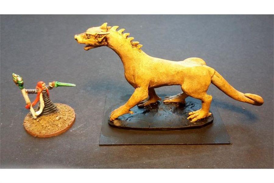 Vermian Rat Drake (1 figure)