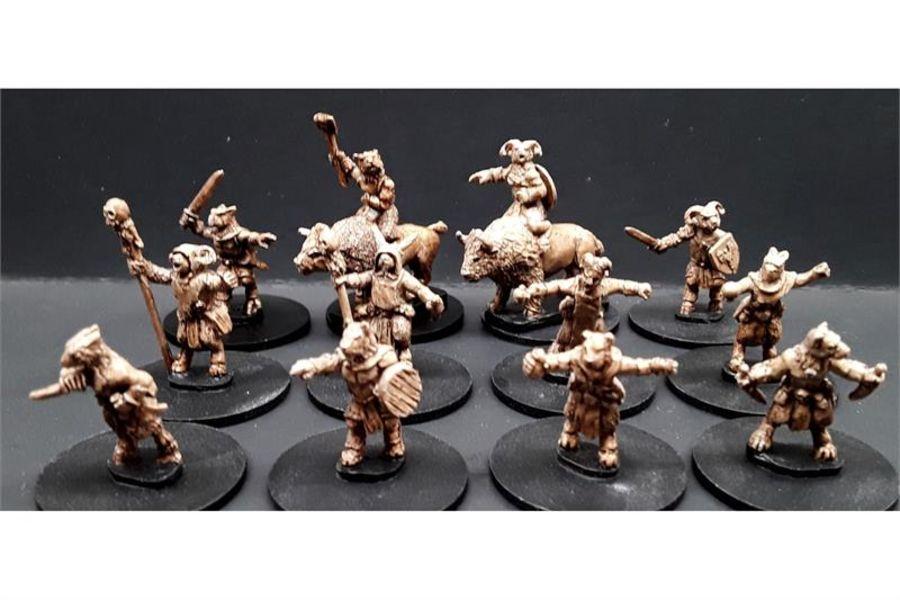 Bestian Characters ( 12 figures)