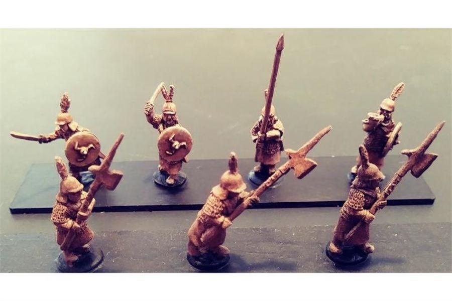 Stygian Halberdiers (35 figures)
