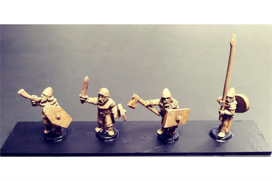 Barbarian Command (4 figures)