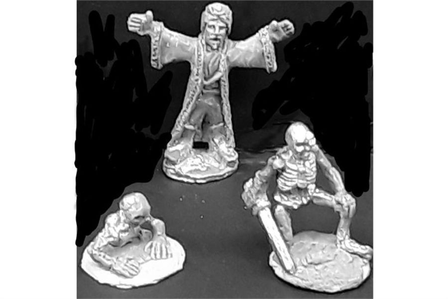 Raising the Dead (3 figures)