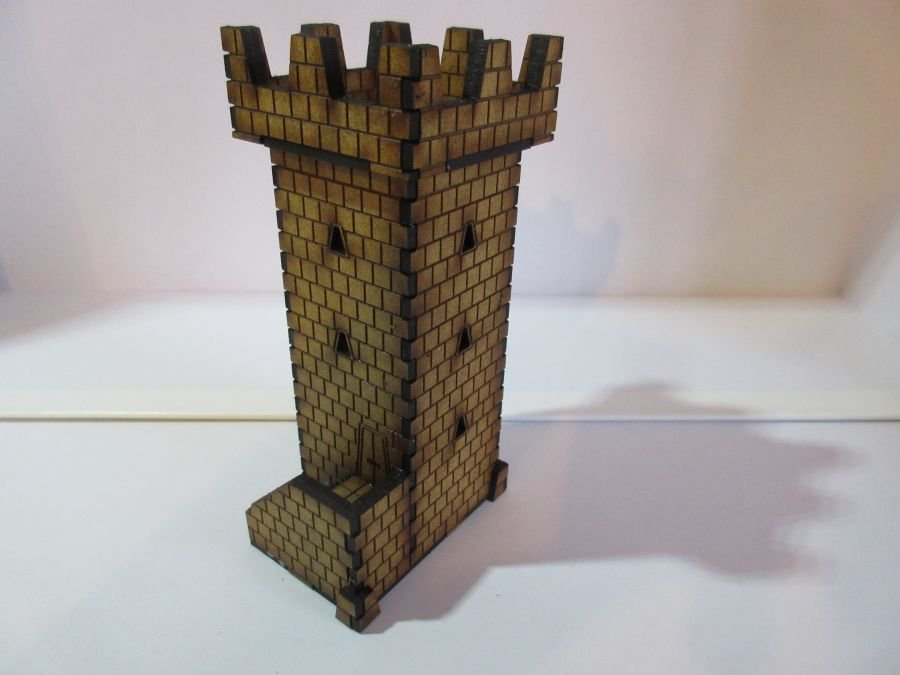 Dwarf Watchtower and Market Cross 15mm