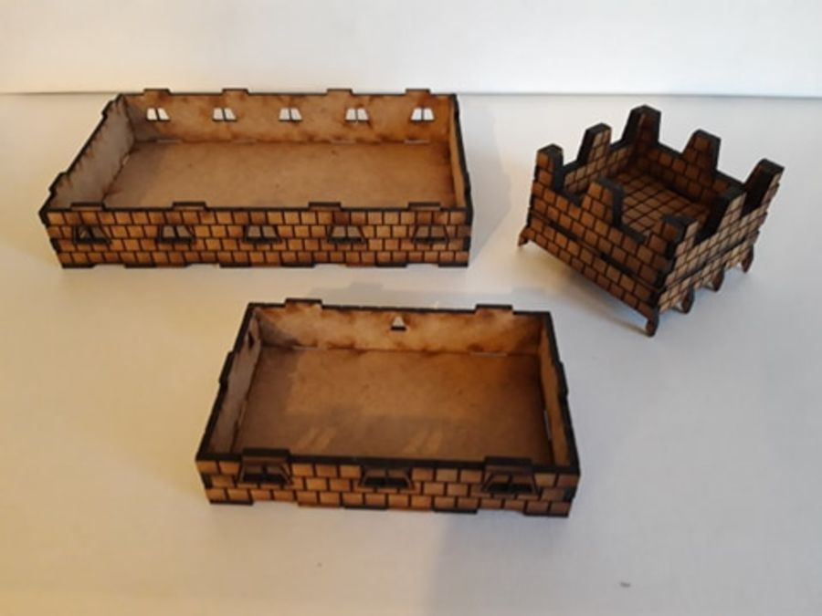 Dwarf Tavern/Great Hall/Stable expansion set