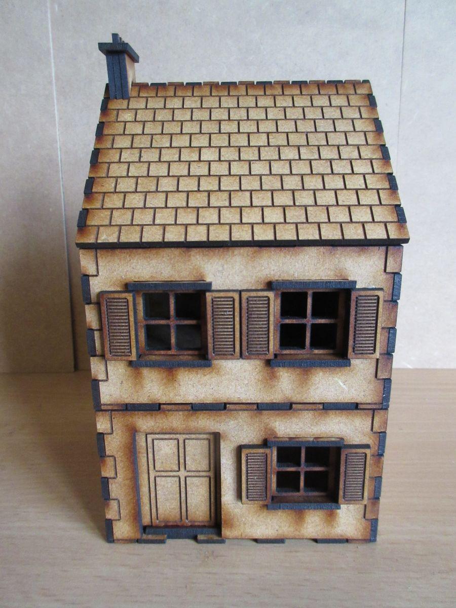 WW2 European Small House Version 1