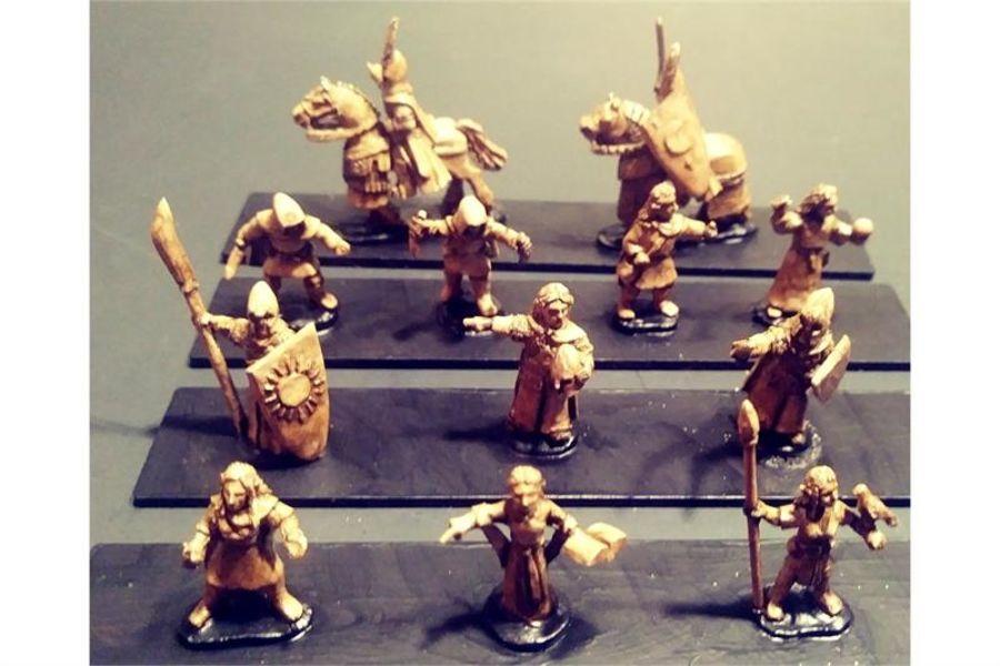 Elvian Characters (12 figures)