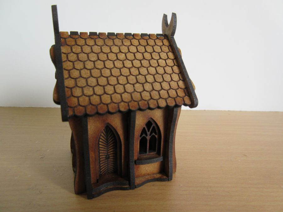 Small Elven Houses 15mm