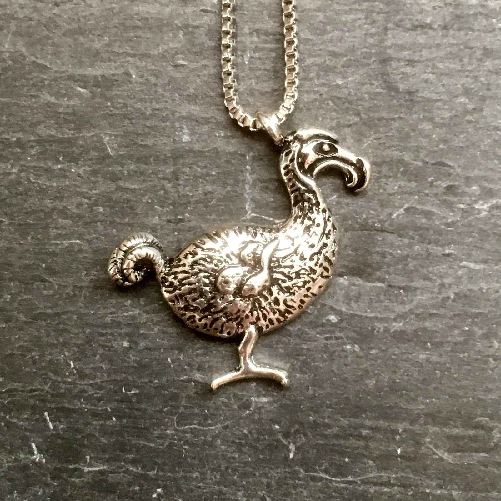 Alice in Wonderland Dodo pendant