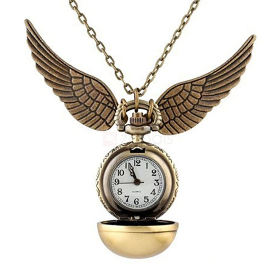 Spherical Snitch pocket watch
