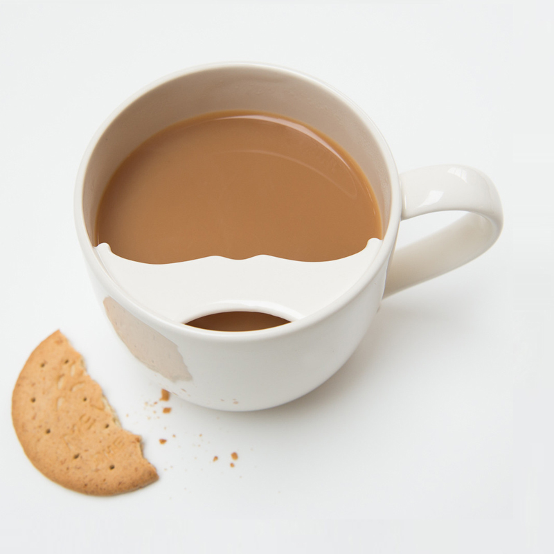 Captain Fawcett moustache cup