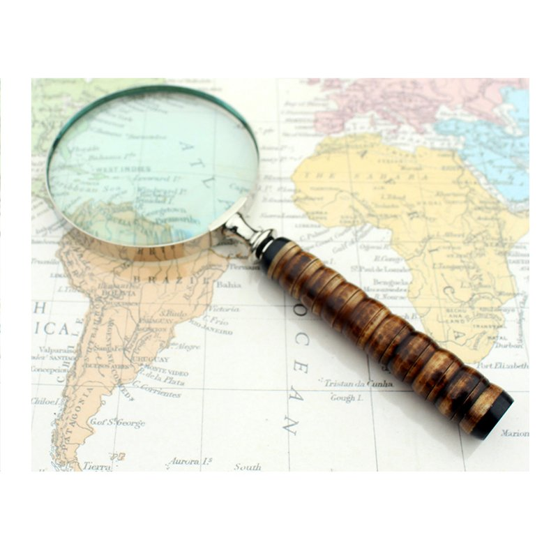 Vintage Magnifying Glass (bone style)