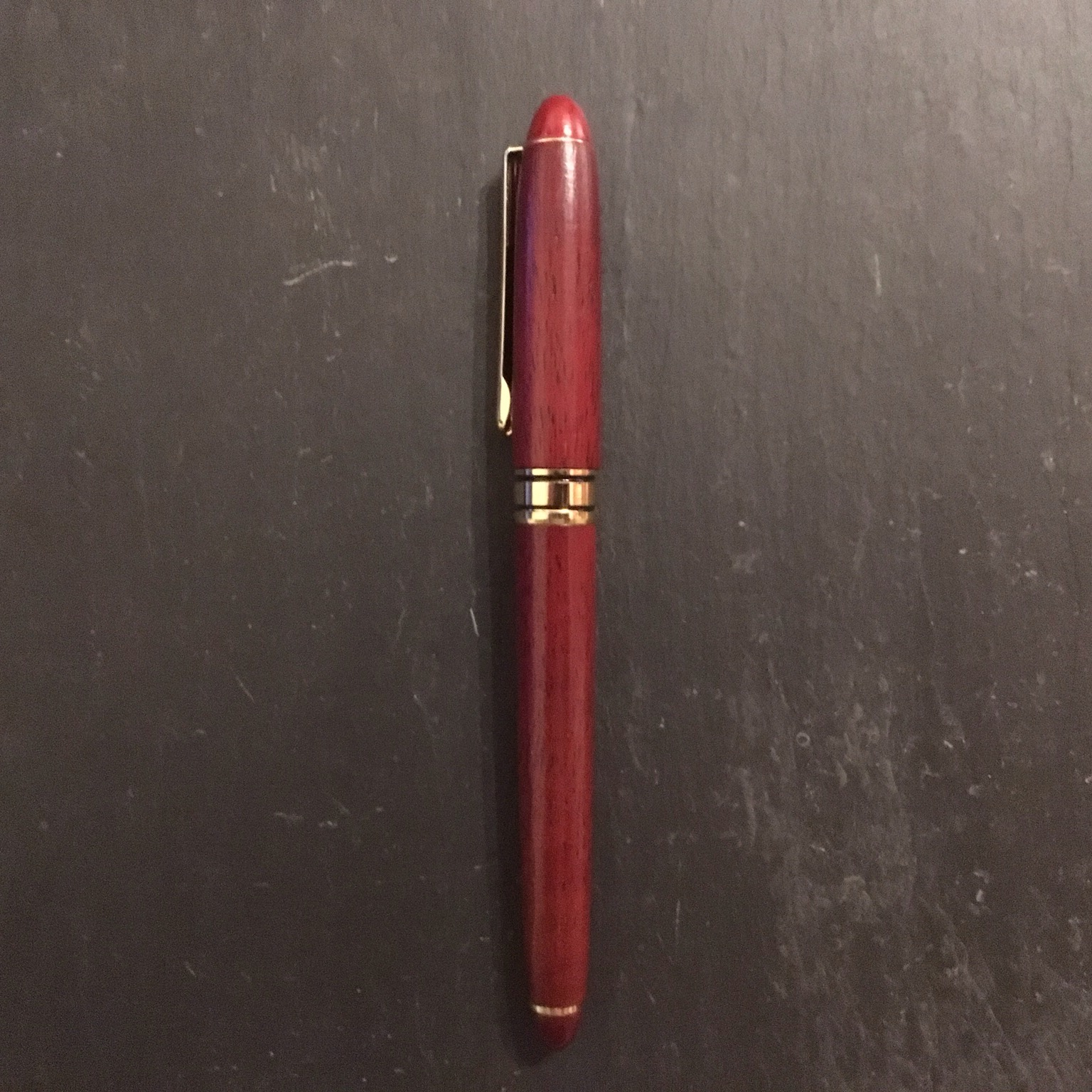 Rosewood fountain pen